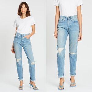 Levi's 501 Made & Crafted Indigo Mosaic Jeans